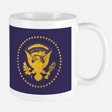 Gold Presidential Seal, VIP, The White Mug
