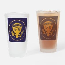 Gold Presidential Seal, VIP, The Wh Drinking Glass