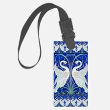 The Swans By Walter Crane Luggage Tag