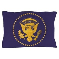 Gold Presidential Seal, VIP, The White Pillow Case
