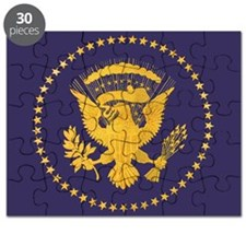 Gold Presidential Seal, VIP, The White Hous Puzzle