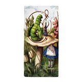 Alice in wonderland Beach Towels