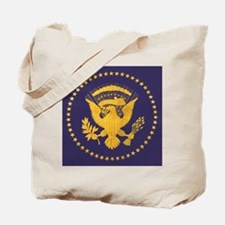 Gold Presidential Seal, VIP, The White Ho Tote Bag
