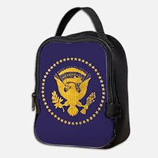 Gold Presidential Seal, VIP, Th Neoprene Lunch Bag