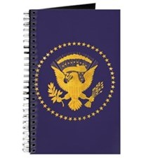Gold Presidential Seal, VIP, The White Hou Journal