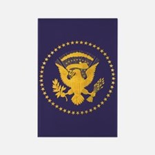 Gold Presidential Seal, VIP, The Rectangle Magnet