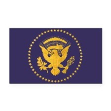 Gold Presidential Seal, VIP, Rectangle Car Magnet