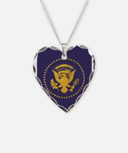 Gold Presidential Seal, VIP, Necklace
