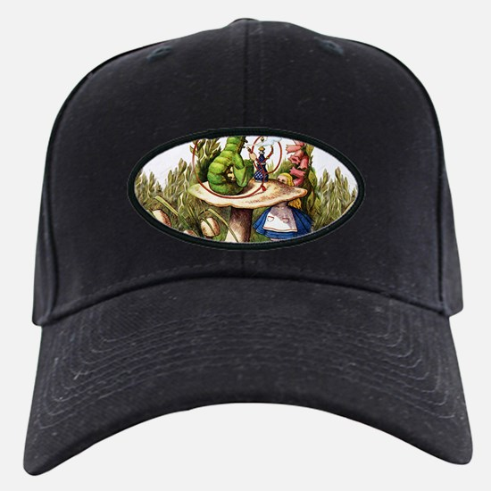 Alice Meets the Caterpillar in Wonderlan Baseball Hat