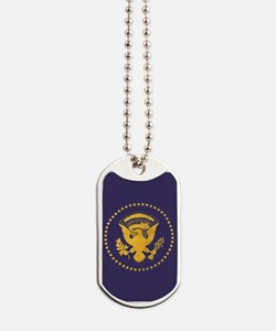 Gold Presidential Seal, VIP, The White Ho Dog Tags