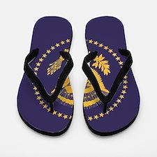Gold Presidential Seal, VIP, The White Flip Flops
