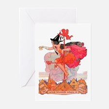 Something Wicked This Wa Greeting Cards (Pk of 10)