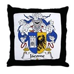 Jacome Family Crest Throw Pillow