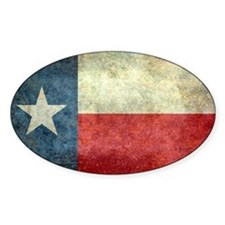 Texas state flag vintage version Decal