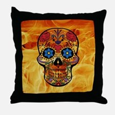 Cute Pirate sign Throw Pillow