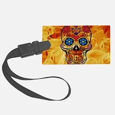 Funny Mexican sugar skulls Luggage Tag