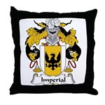 Imperial Family Crest Throw Pillow
