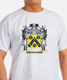 Goldberger Coat of Arms - Family Crest T-Shirt