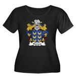Homen Family Crest Women's Plus Size Scoop Neck Da