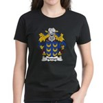 Homen Family Crest Women's Dark T-Shirt