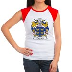 Homen Family Crest Women's Cap Sleeve T-Shirt
