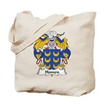 Homen Family Crest Tote Bag