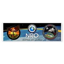 NRO Logo Bumper Sticker