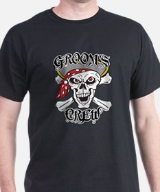 Groom's Pirate Crew T-Shirt