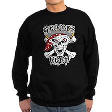 Groom's Pirate Crew Sweatshirt