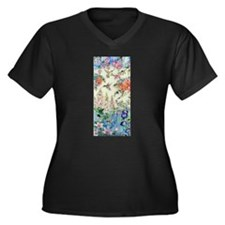 Hummingbirds and Flowers Plus Size T-Shirt