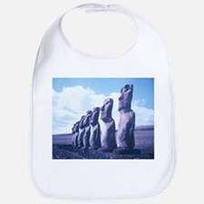 Easter Island Statues Bib