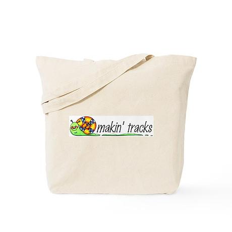 Makin' Tracks Tote Bag