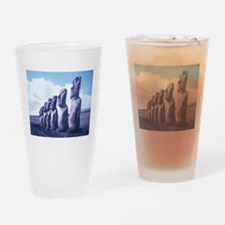 Easter Island Statues Drinking Glass