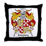 Guevara Family Crest Throw Pillow
