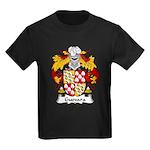Guevara Family Crest Kids Dark T-Shirt