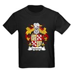 Guevara Family Crest Kids Dark T-Shirt