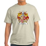 Guevara Family Crest Light T-Shirt