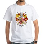 Guevara Family Crest White T-Shirt