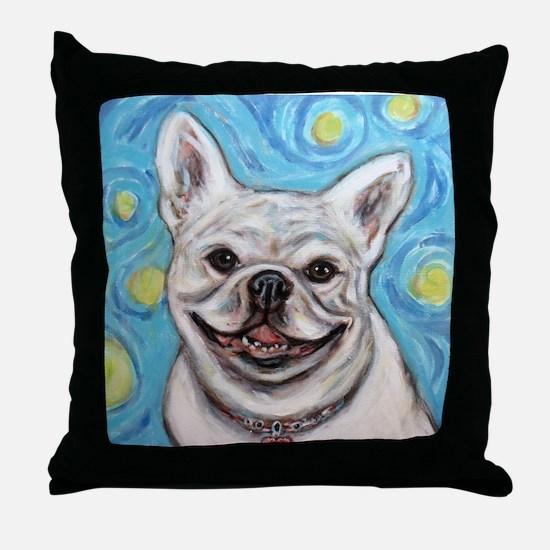 Cute Cute bulldog Throw Pillow