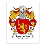 Guerreiro Family Crest  Small Poster