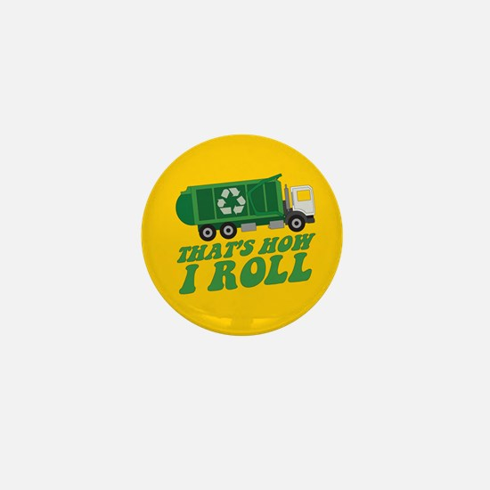 Recycling Truck Mini Button (100 pack)