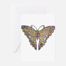 Colorful_butterfly Greeting Cards