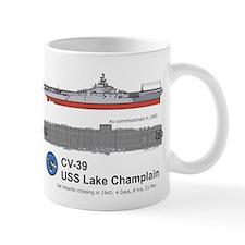 Uss Lake Champlain (cv-39) Mug Mugs