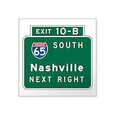 """Cute Interstate Square Sticker 3"""" x 3"""""""