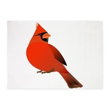 Red Cardinal 5'x7'Area Rug