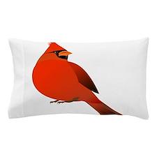 Red Cardinal Pillow Case