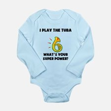 I Play The Tuba Whats Your Super Power? Body Suit
