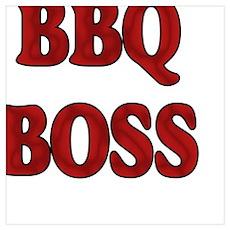 BBQ Boss Poster