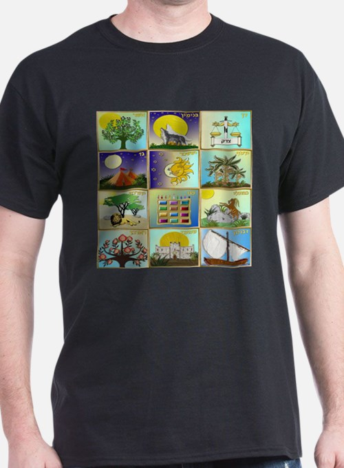 12 Tribes Of Israel T-Shirt