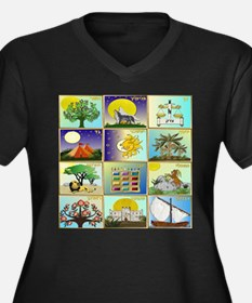 12 Tribes Of Israel Plus Size T-Shirt
